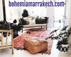 Bohemia Marrakech pouf leather Original by BohemiaMarrakechCom Square Pouf, Marrakesh, Moroccan, Home Goods, The Originals, Trending Outfits, Leather, Home Decor, Bohemia