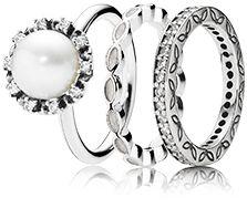 Get ready for white season parties #PANDORAring #pearl
