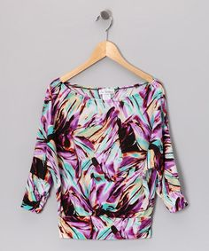 Take a look at this Purple Haze Dolman Top by Fashion Points: Tween Trends on @zulily today!