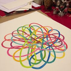 experimental drawing (infinities entwined) ... cheryl sorg