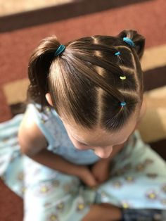 30 Beautiful Hairstyles The Effective Pictures We Offer You About girls hairdos hearts A quality pic Lil Girl Hairstyles, Girls Natural Hairstyles, Easy Hairstyles For Medium Hair, Hairstyles For School, Braided Hairstyles, Beautiful Hairstyles, Hairdos, Cute Kids Hairstyles, Hairstyles For Toddlers