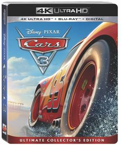 Not only do you get to enjoy the movie that touched our hearts but you get to enjoy all of the bonus features of Cars 3 on Blu-Ray and DVD!