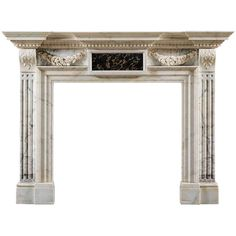 Neo-Palladian Fireplace Mantle after Inigo Jones | From a unique collection of antique and modern fireplaces and mantels at http://www.1stdibs.com/furniture/building-garden/fireplaces-mantels/