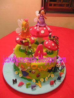 Fairyland birthday cake