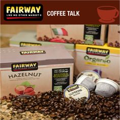 The #Sustainable, E-Friendly #Fairway Onecup!   The farms we work with only offer beans that are both fair and direct trade, so you can feel good knowing you're contributing to the future of the global coffee industry. Our One Cups use less plastic and are 97.33% biodegradable.  Why pay more for lesser quality? We Fairway folks know #coffee!   Try some on sale for $6.99 this week at your local Fairway.