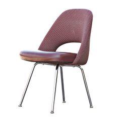 Six Knoll Eero Saarinen Dining Side Chairs