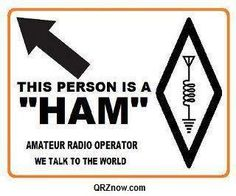 This person is a Ham Radio Operator
