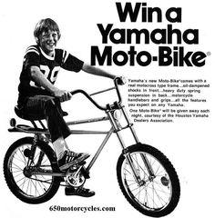 1976- Yamaha Moto Bike