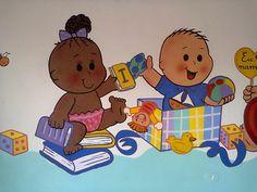 intelecto,+escola,+infantil,+escola+infantil,+muro,+decoração,+pintura+pedagogica,+desenhos,+crianças,+sala+de+aula,+berçario,+4.jpg (1280×960)