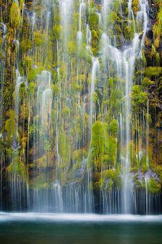 Mossbrae Falls, California, United States.