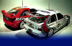 Ford Rally Escort Cosworth cars