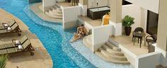 Secrets Wild Orchid,  Montego Bay Jamaica, All Inclusive  preferred club junior suite oceanview swim out suites