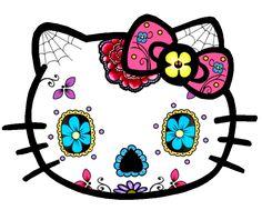 dia de los muertos hola gato ^_^
