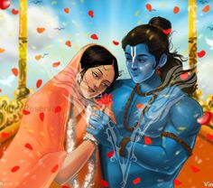 Shiva Parvati Images, Lord Krishna Images, Shiva Shakti, Shiva Art, Krishna Art, Radhe Krishna, Ram Sita Image, Shree Ram Images, Shri Ram Photo
