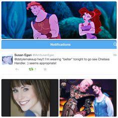 Original Belle in Beauty & the Beast Broadway. Voice of Meg in Disney's Hercules. Susan Egan, Disney Hercules, Lipsticks, Beauty And The Beast, The Voice, Broadway, The Originals, Lipstick