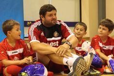 Entrenador del Sunderland AFC en las clases del Campus