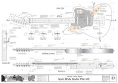 Amstdpbassv2g 70214966 construccin de un bajo pinterest build an electric guitar with the most detailed electric guitar plans available anywhere our guitar plans are available in pdf format pronofoot35fo Images