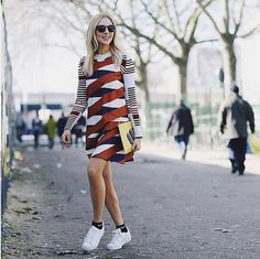 12 Ways to Pull Off the Easiest Cold-Weather Hack Ever: The most heartbreaking time of year has arrived, when we're forced to swap out our favorite Summer dresses for the boots and coats we've kept tucked away since Winter.