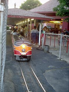 Kiddie Land train