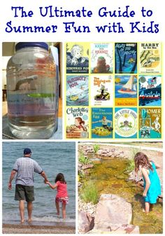 More than 100 Ideas & Activities for things to do with the kids this Summer!