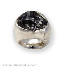 GM Collections - Ring, herkimer diamind solitaire
