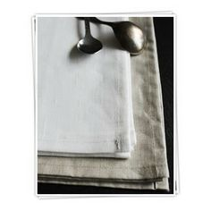 Linen Napkin from Ada & Ina - http://www.linenfabrics.co.uk/linen-napkin-p-411.html