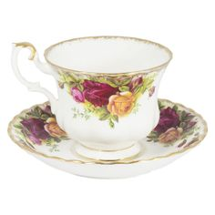 Set 6 china Teacups
