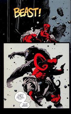 comic art and sketches Comic Book Artists, Comic Artist, Comic Books Art, Hellboy Tattoo, Batman Tattoo, Hellboy Movie, Mike Mignola Art, Manga, Comic Layout