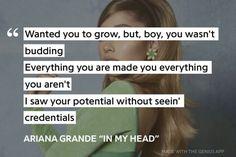 Ariana Grande Lyrics, Positivity, Album, Make It Yourself, Card Book, Optimism
