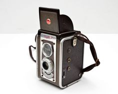Vintage Brown Kodak Duaflex IV Camera for 620 Film by Canadian Kodak by ValueBliss on Etsy