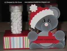 Paper Punch Addiction: Treat Tube gift box