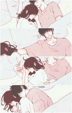 Sleepy time cuddles