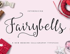 "Check out new work on my @Behance portfolio: ""Fairybells Script"" http://on.be.net/20bMus4"
