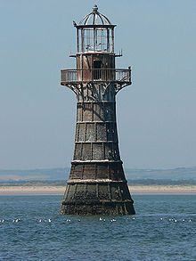 Whiteford Lighthouse, Whitford Point, Gower, Wales