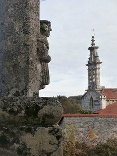 1000 Lugares en Galicia: Ribeira Sacra. Iglesia Románica de San Xulián de L...