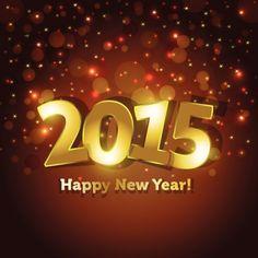 Nouvelle année 2015 messages de vœux 450x450