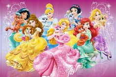 Disney Princesses - The Palace Pets Featuring: Snow White and Berry Cinderella and Pumpkin Aurora and Beauty Ariel and Treasure Belle and Teacup Jasmine. Disney Princesses - The Palace Pets Disney Princess Characters, New Disney Princesses, Disney Princess Ariel, Disney Princess Pictures, Princess Anna, Princess Peach, Aurora Disney, Princess Cartoon, Princess Palace Pets
