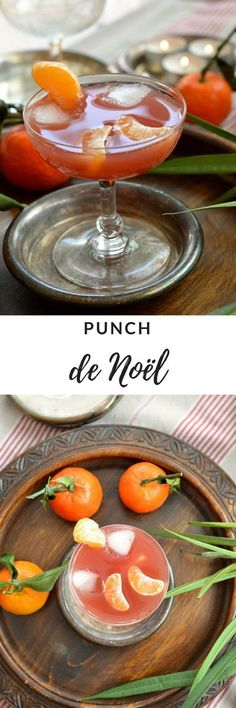 Punch de Noël {clémentine et cranberry}You can find Essen weihnachten and more on our website.Punch de Noël {clémentine et cranberry} Martini Recipes, Cocktail Recipes, Christmas Punch, Xmas, Christmas Sangria, Christmas Holiday, Yummy Food, Tasty, Easy Cocktails