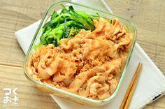 冷たいままでも温めなおしても、おいしく食べられる常備菜。きゅうりはお好みで添えて食べます。茹でる手順にちょっと時間がかかりますが、丁寧にやることが美味しさのコツです。冷蔵保存5日