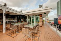 Touché Rooftop Lounge & Restaurant event venue in Miami, FL would be the perfect spot for an outdoor wedding! We love this venue, and you will too- check out more at http://eventup.com/venue/touche-rooftop-lounge-restaurant/ #venues #miami #EVENTup #touche #weddingwednesday #alfresco #rooftop