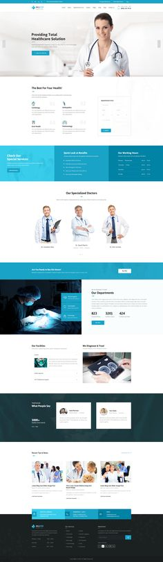 Allied Health Care: Medical PSD Template suitable for all types of Medical Centers. That Includes totally 17 Pages. Pages 01-Homepage-01.psd 02-Homepage-02.psd ...