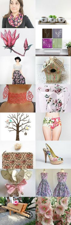 Flower power by lilli on Etsy--Pinned with TreasuryPin.com