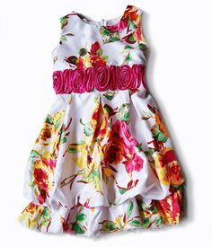 Sweet Bubble Dress For Little Girls   Fashion Trend Dresses