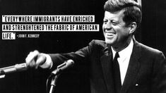 A list of quotes from Americans, American politicians, and presidents about Immigration to the United States. Diversity Quotes, Number Quotes, Immigration Policy, John F Kennedy, American Life, Daily Reminder, Jfk, Worlds Of Fun, Frases