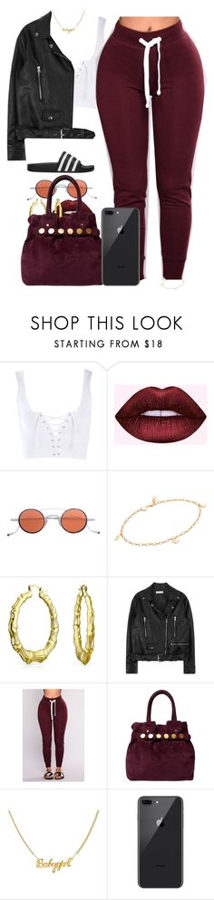 """Nov/4/17"" by codeineweeknds ❤ liked on Polyvore featuring Topshop, Jacques Marie Mage, Jennifer Zeuner, Bling Jewelry, Karen Millen and adidas Originals"
