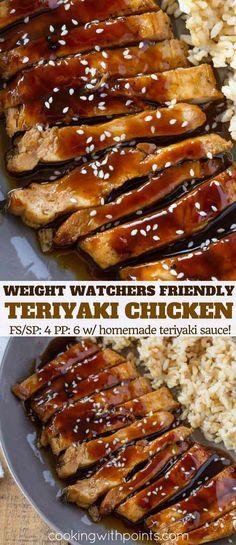 Weight Watchers Friendly Teriyaki Chicken
