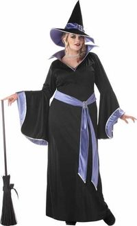 Plus size costumes witch adult