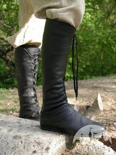 "I found 'Medieval Fantasy High Boots ''Forest""' on Wish, check it out!"
