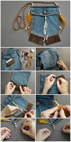 DIY beautiful native handbag. Love it!