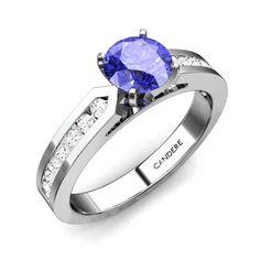 Tiara Tanzanite Ring